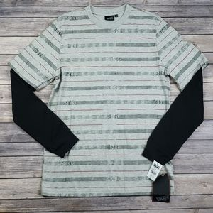 Vans 1966 Striped Thermal Long Sleeve T-Shirt
